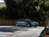 Mercedes C350 on H&R Coilovers with Vossen 20 inch VVSCV2 Wheels