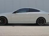 Mercedes C63 Coupe Agency Power Valvetronic Exhaust
