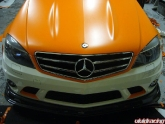 Orange Wrapped Matte Orange 63 Amg