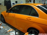 Orange Wrapped Matte Orange 63 Amg