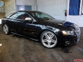 2011 Audi S5 with a set of Modulare C11 3-piece wheels, 20x9 front and 20x11 rear