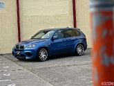 "2011 BMW X5M with a set of 22"" Modulare C1 Wheels 22x10 22x12"