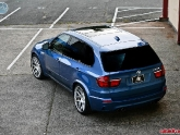 """2011 BMW X5M with a set of 22"""" Modulare C1 Wheels 22x10 22x12"""