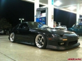 Nissan 240sx  SSR SP1 Wheels 18x9.5 25mm and 18x10.5 +30