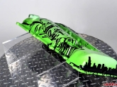Custom Painted Green Silvia Engine Cover