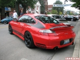 Chad's 996 Turbo Representing Vivid At Porsche Show