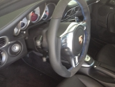 Porsche 997.2 Turbo PDK with Sport Upgraded Steering Wheel Blue Stitch Alcantara