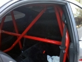Porsche 997 Carrera with Red Agency Power Roll Cage