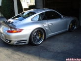 John's Porsche 997tt With 843r Satin Charcoal 20inch Wheels