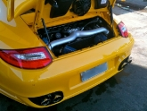 Beto's Porsche 997tt From Brazil With Fabspeed, Pss10, Victor Equipment