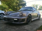 Jose Porsche 930 Rauh Welt Style Turbo with Agency Power LED DRL Lights