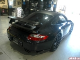 Black On Black Porsche Carrera S