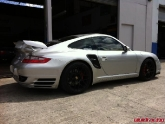 Porsche 997 Turbo with NR Auto GT2 Wing