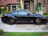 Gene Porsche 997 Turbo with AP 1pc Forged Wheels