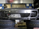 Agency Power Carbon Fiber Front Lip Porsche 997 Turbo