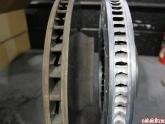 Brembo 2pc Rotor vs Stock Rotor Porsche 997 Turbo