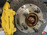 Porsche black wheel bolt.