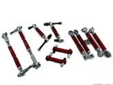 Agency Power Porsche Suspension Pieces Red