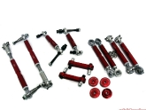 Agency Power Porsche Suspension Pieces Red