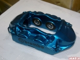 Brembo Brakes Finished In Blue