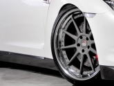 Cor Wheels Cipher On Nissan Gtr