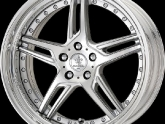 "Work Wheels Calm Silver Cut Clear (CFP) Finish in 20"" Step Rim"