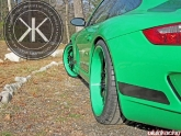 Kennedy Performance Green/green Porsche Gt3rs