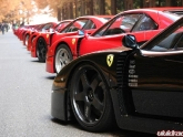 Neez JDM Wheels on Ferrari's