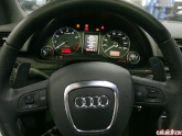 Agency Power Audi Paddle Shifters Installed