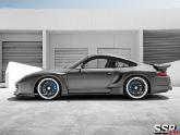 Porsche 996 with SSR Professor MS1 Wheels and Top Secret Aero Kit