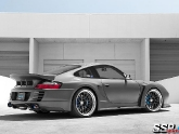 Porsche 996 with SSR Professor MS1 Wheels and Top Secret Aero Kit