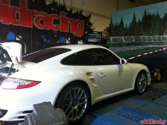 VRTuned OBDII ECU Flash Dyno Test Porsche Turbo S