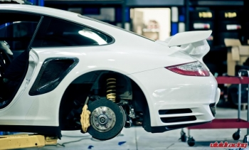 Porsche 997.2 Turbo KW V3 PASM Coilover Install