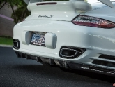 VR Porsche 997.2 Turbo Project AP Carbon Rear Diffuser