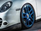 VR Porsche 997.2 Turbo Project Blue Chrome AP Wheels