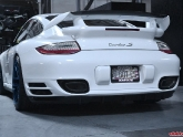 Agency Power Carbon Fiber Exhaust Tips Porsche 997.2 Turbo