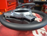 Custom Porsche PDK Sport Design Steering Wheel by Agency Power Install 3