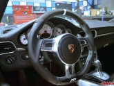 Custom Porsche PDK Sport Design Steering Wheel by Agency Power