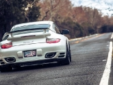 Porsche 997.2 Turbo S Arizona Snow Photoshoot