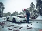 Porsche 997.2 Turbo Snow Shoot in Arizona