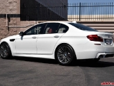 M5 Lowered with HR Springs