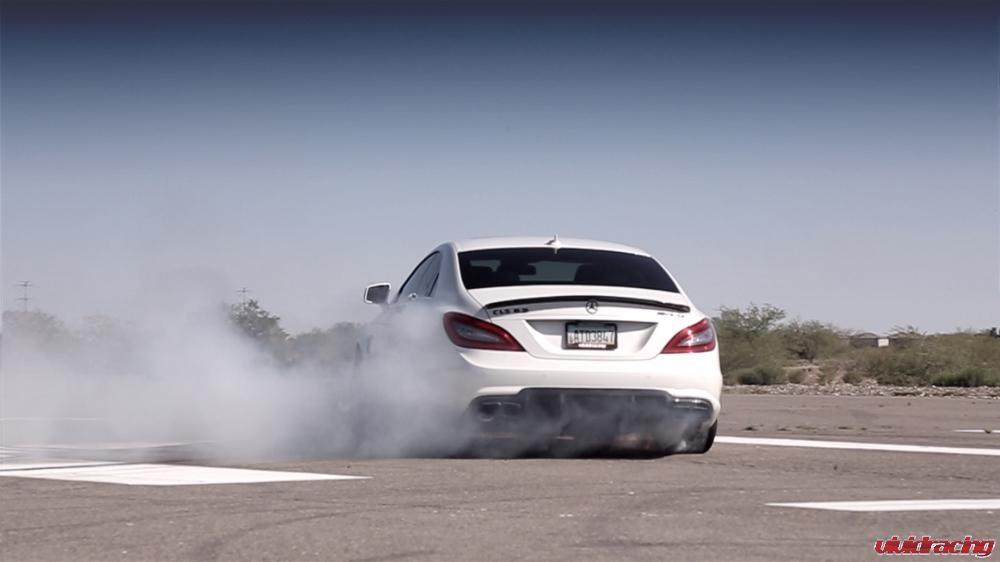 Mercedes CLS63 Video Shoot Smoken
