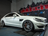 Project Mercedes CLS63 HRE P44 20in Wheels KW Coilovers Brembo Brakes Agency Power