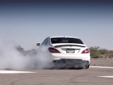 Mercedes CLS63 Video Shoot Smoken
