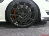 Sneak Peak of the Mercedes CLS63 in the Vossen Booth