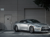 Project Nissan GT-R with MHT 21 Inch Wheels, Agency Power Exhaust, KW Coilovers, Cobb Access Port