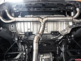 Agency Power Titanium Exhaust System Installed Nissan GT-R