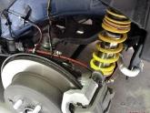 AP Brake Lines Installed Rear