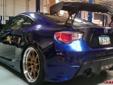 Scion FRS for SEMA INGs Aero Kit Agency Power Status Racing KW Suspensions Brembo Brakes