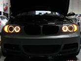 BMW 135i HID Angel Eyes Install